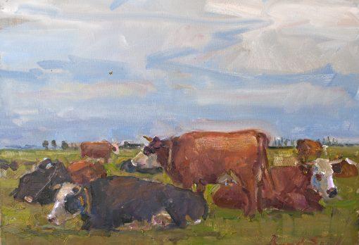 koeienschilderij